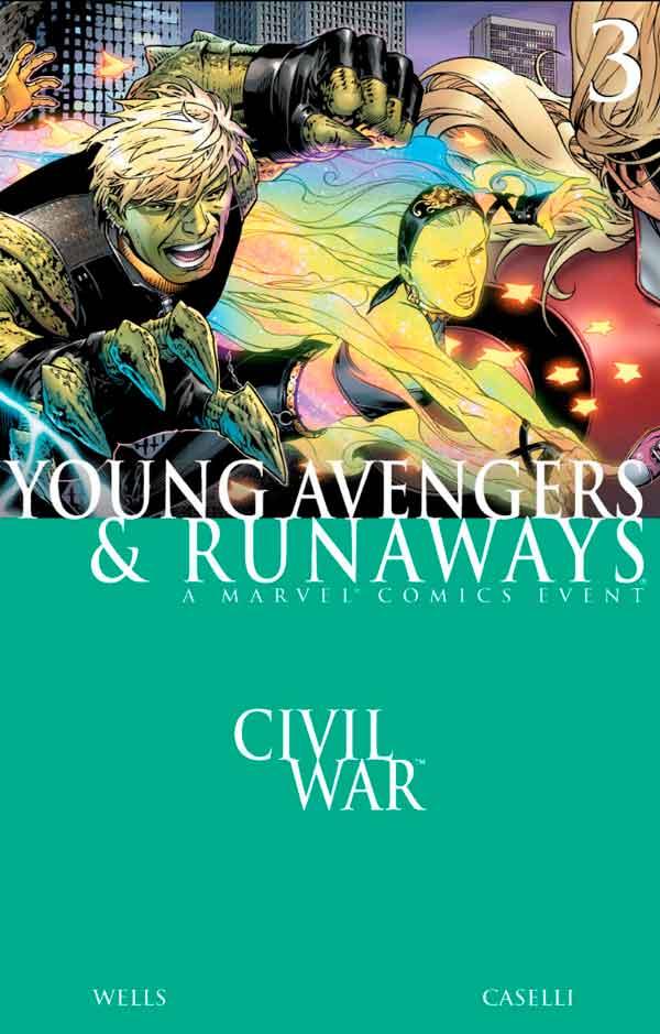 Civil War - Young Avengers & Runaways #3 Гражданская Война: Юные Мстители и Беглецы #3 скачать/читать онлайн