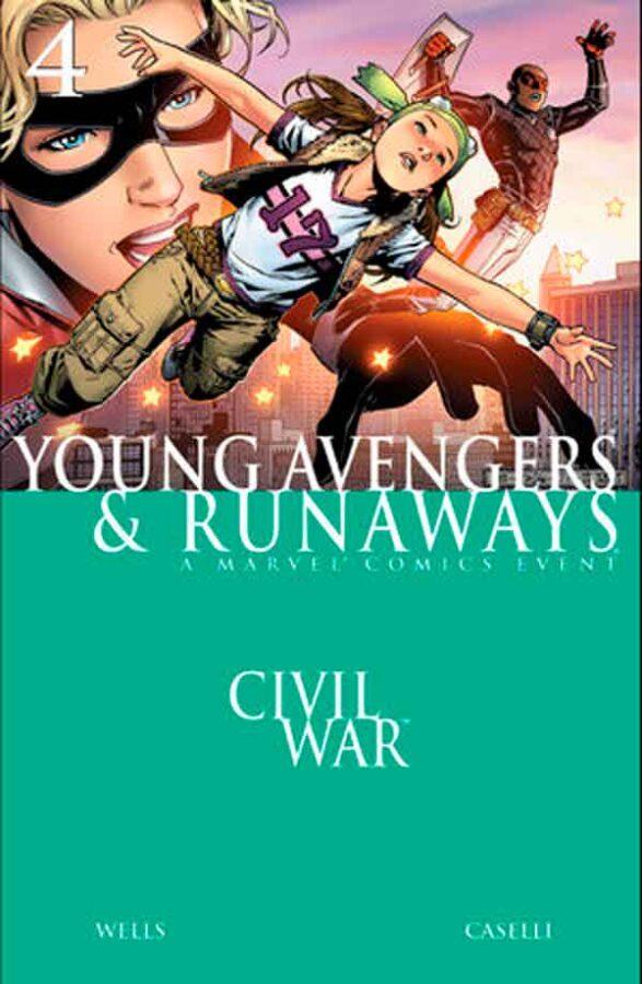Civil War - Young Avengers & Runaways #4 Гражданская Война: Юные Мстители и Беглецы #4 скачать/читать онлайн