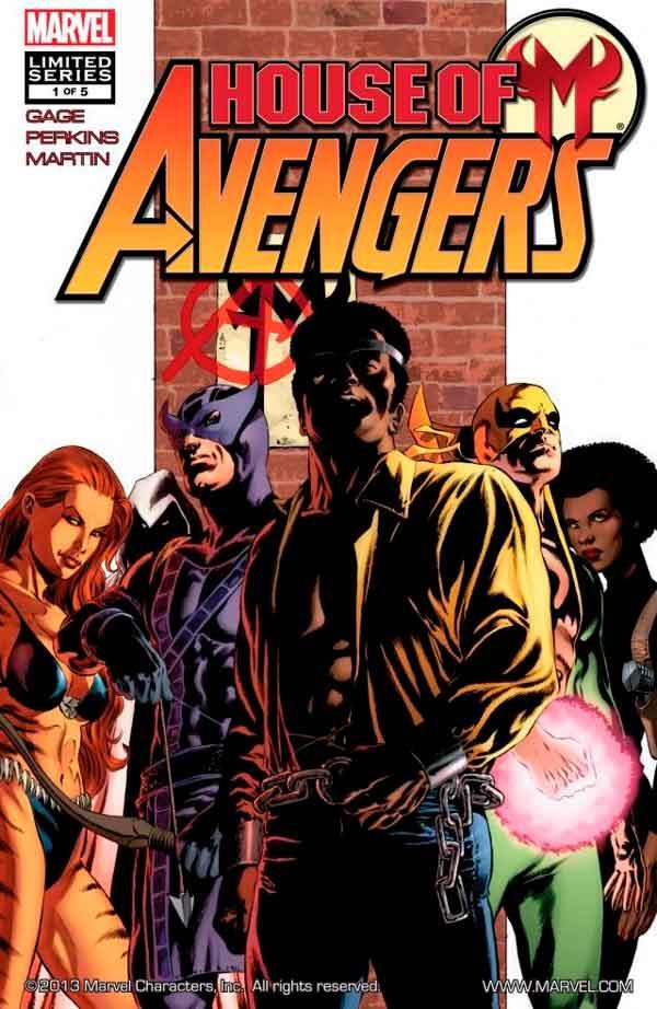 House of M: Avengers Vol 1 #1 Дом М Мстители #1 читать скачать комиксы онлайн