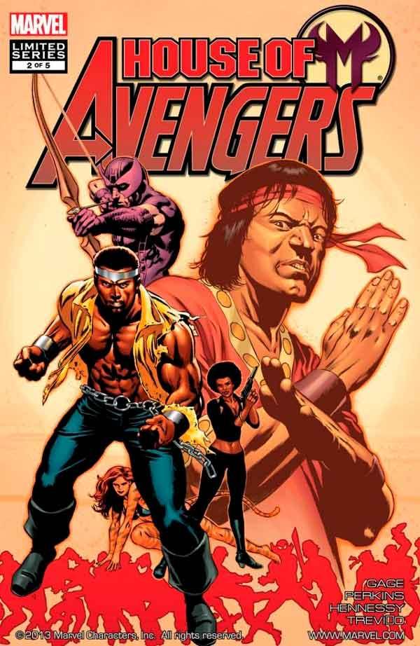 House of M: Avengers Vol 1 #2 Дом М Мстители #2 читать скачать комиксы онлайн