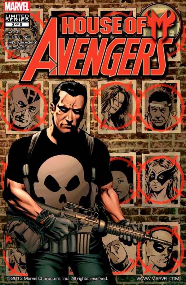 House of M: Avengers Vol 1 #3 Дом М Мстители #3 читать скачать комиксы онлайн