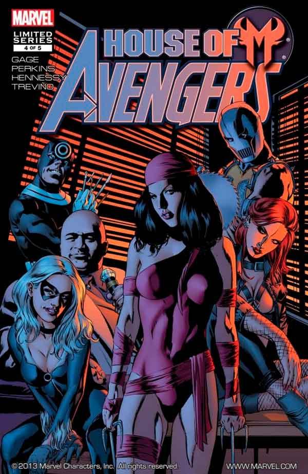 House of M: Avengers Vol 1 #4 Дом М Мстители #4 читать скачать комиксы онлайн