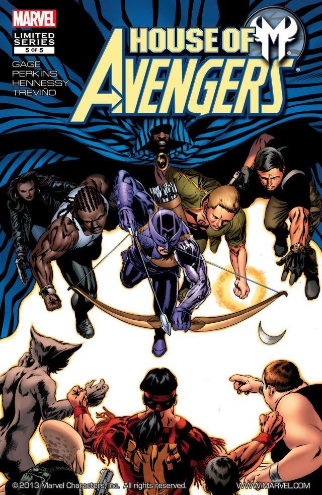 House of M: Avengers Vol 1 #5 Дом М Мстители #5 читать скачать комиксы онлайн