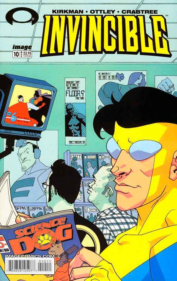 Неуязвимый (Invincible) #10 читать скачать комиксы онлайн