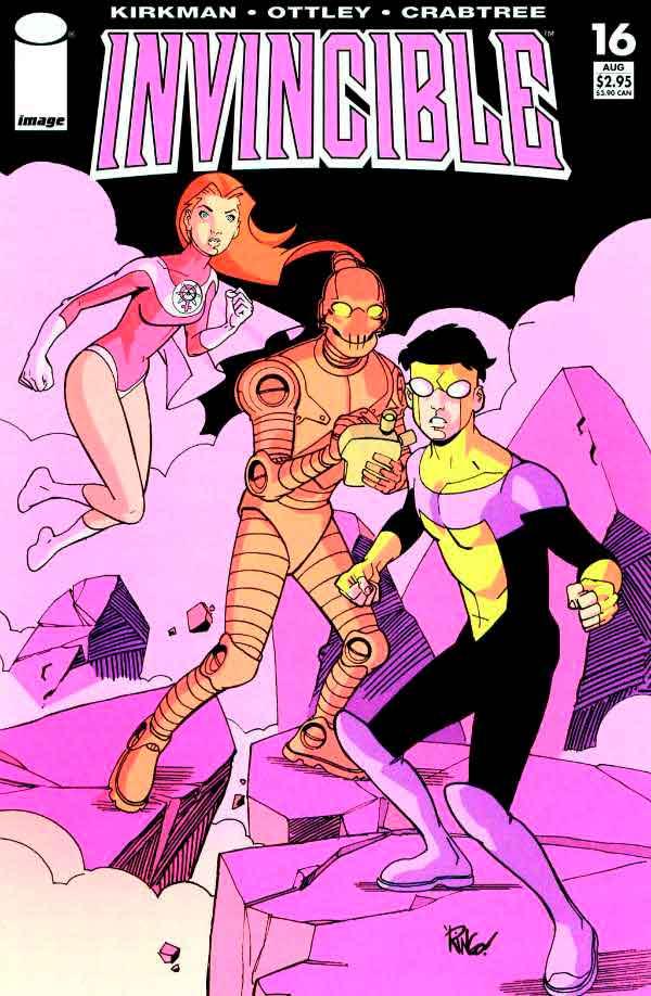 Неуязвимый (Invincible) #16 читать скачать комиксы онлайн