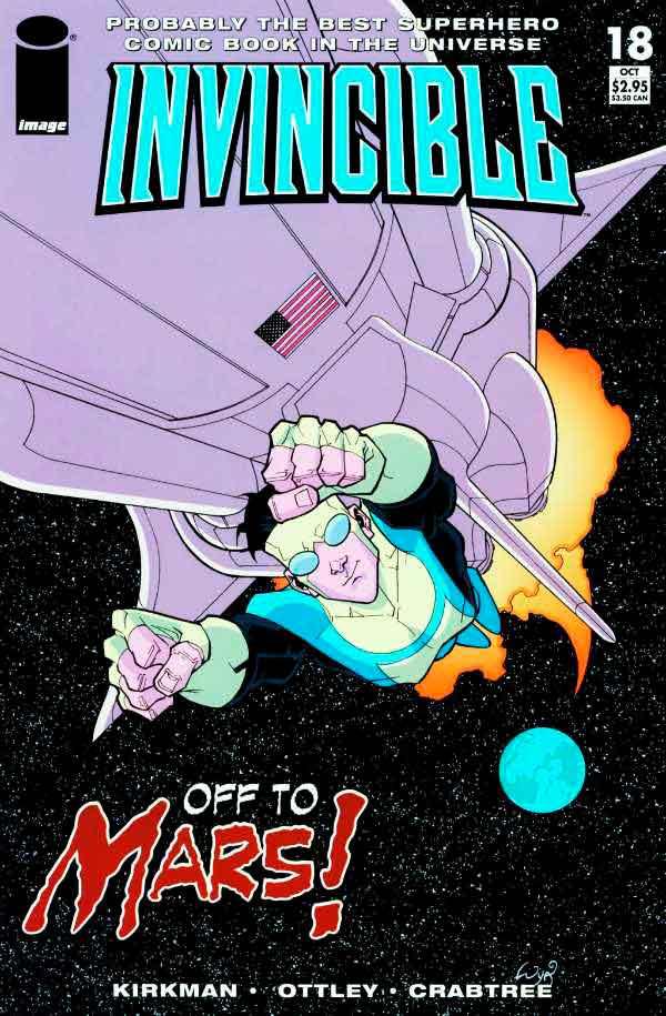 Неуязвимый (Invincible) #18 читать скачать комиксы онлайн