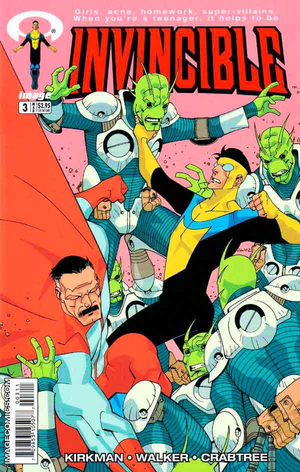 Неуязвимый (Invincible) #3 читать скачать комиксы онлайн