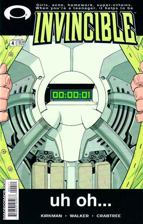 Неуязвимый (Invincible) #4 читать скачать комиксы онлайн