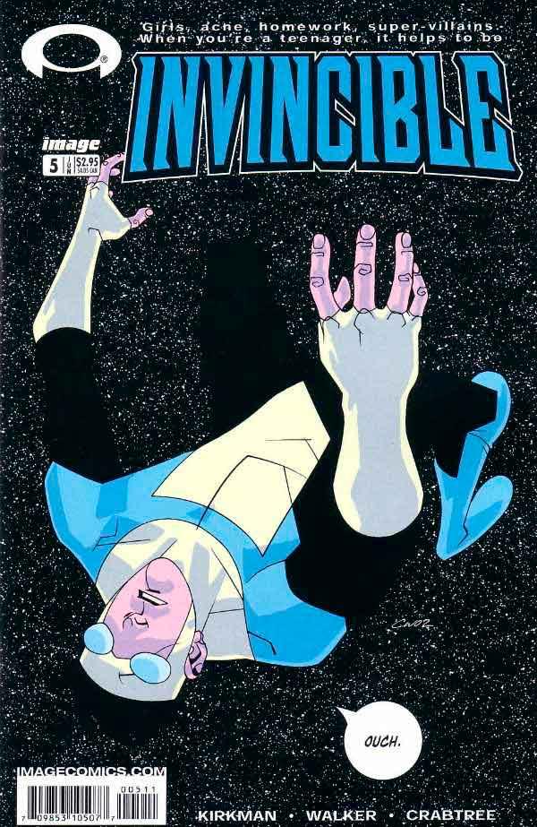 Неуязвимый (Invincible) #5 читать скачать комиксы онлайн