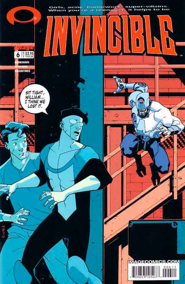 Неуязвимый (Invincible) #6 читать скачать комиксы онлайн