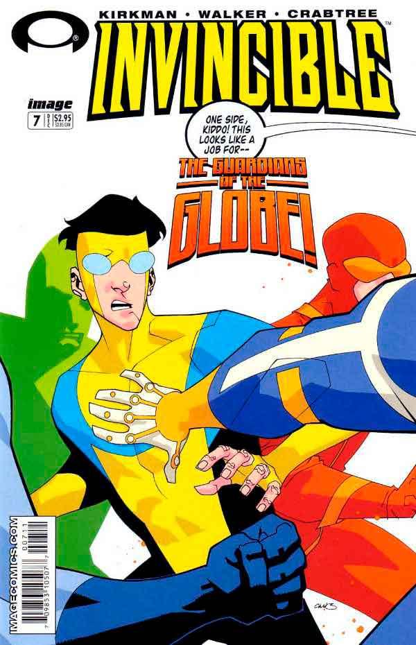 Неуязвимый (Invincible) #7 читать скачать комиксы онлайн