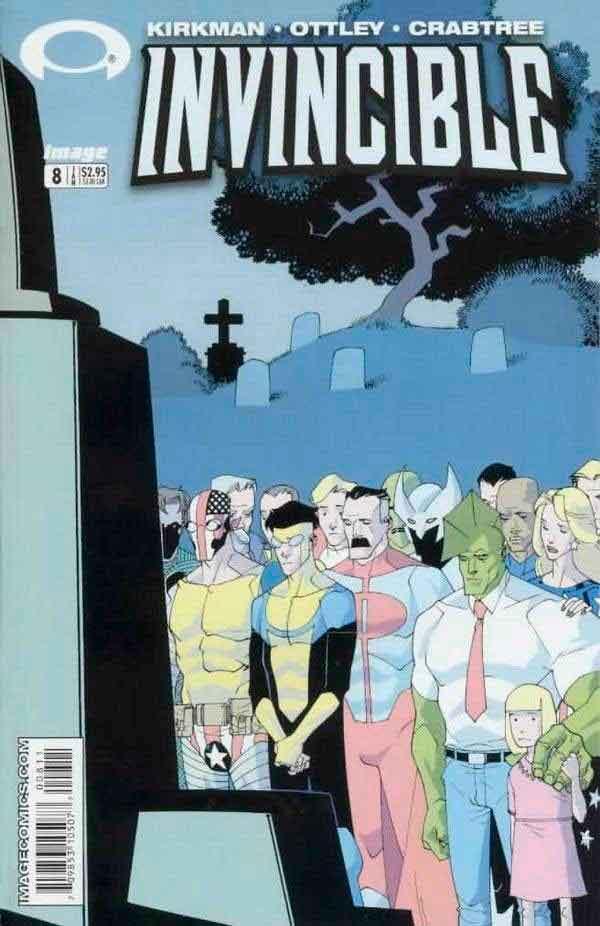 Неуязвимый (Invincible) #8 читать скачать комиксы онлайн