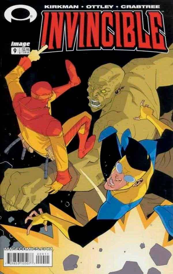 Неуязвимый (Invincible) #9 читать скачать комиксы онлайн