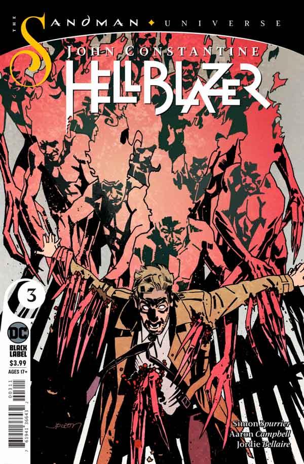 John Constantine - Hellblazer (2019) Vol 1 #3 Джон Константин: Посланник ада Том 1 #3 читать скачать комиксы онлайн