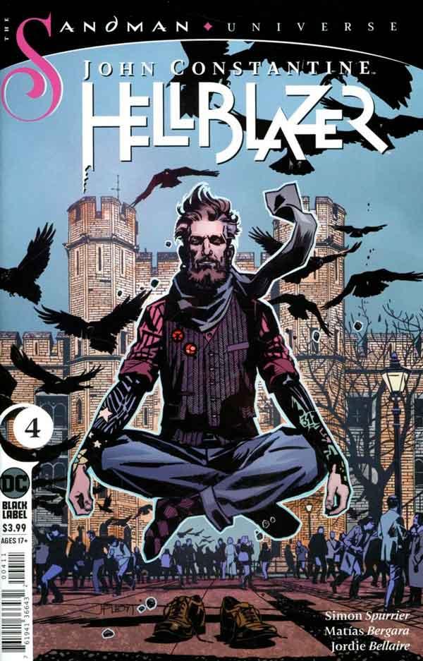 John Constantine - Hellblazer (2019) Vol 1 #4 Джон Константин: Посланник ада Том 1 #4 читать скачать комиксы онлайн