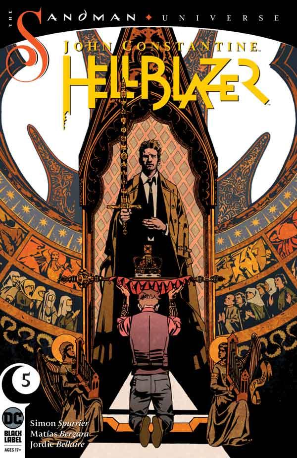 John Constantine - Hellblazer (2019) Vol 1 #5 Джон Константин: Посланник ада Том 1 #5 читать скачать комиксы онлайн