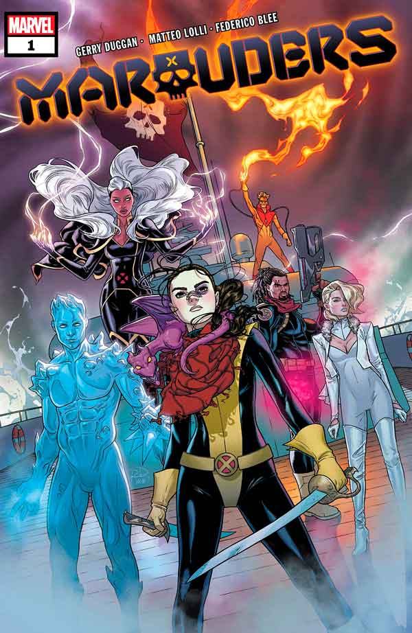 Marauders Vol 1 #1 Мародёры Том 1 #1 скачать/читать комиксы онлайн