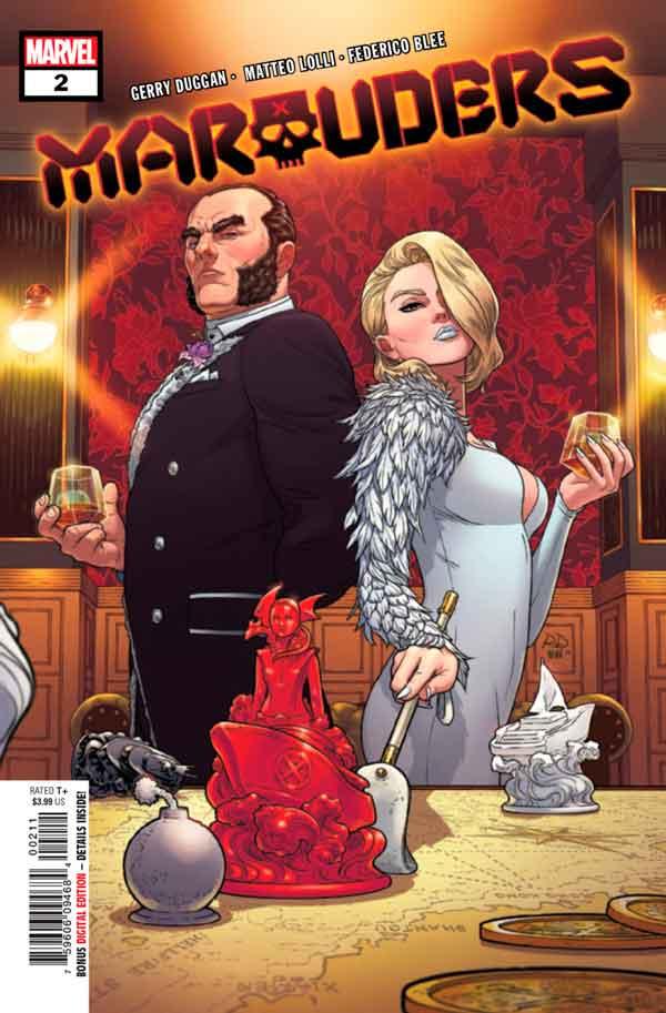 Marauders Vol 1 #2 Мародёры Том 1 #2 скачать/читать комиксы онлайн