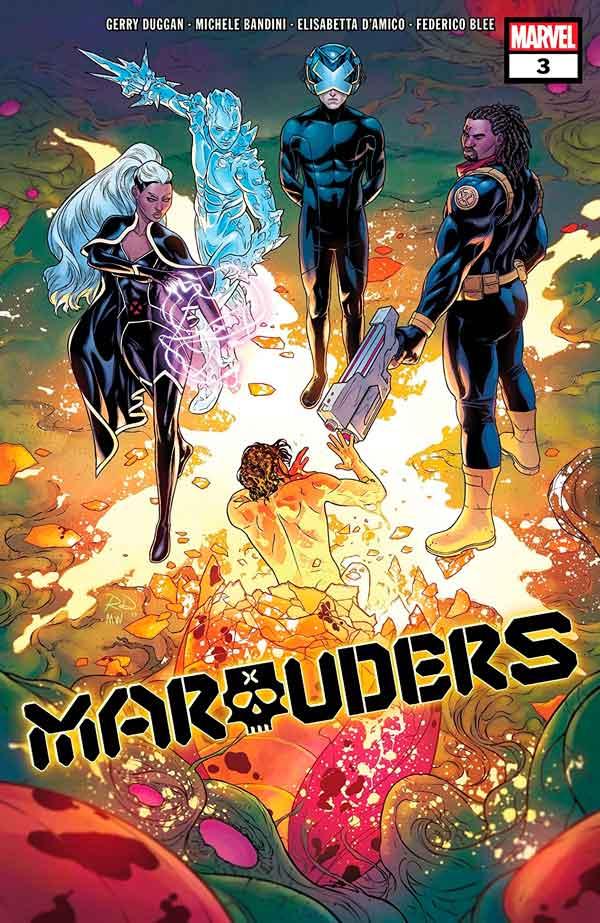 Marauders Vol 1 #3 Мародёры Том 1 #3 скачать/читать комиксы онлайн