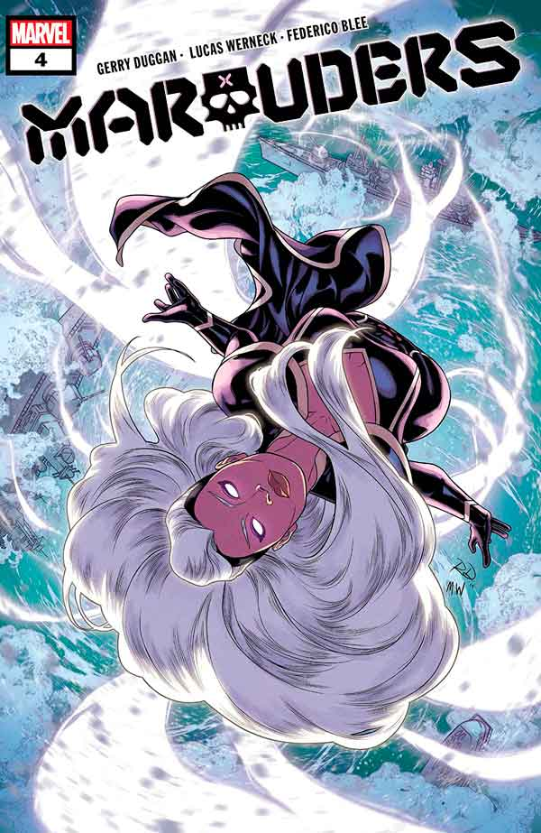 Marauders Vol 1 #4 Мародёры Том 1 #4 скачать/читать комиксы онлайн
