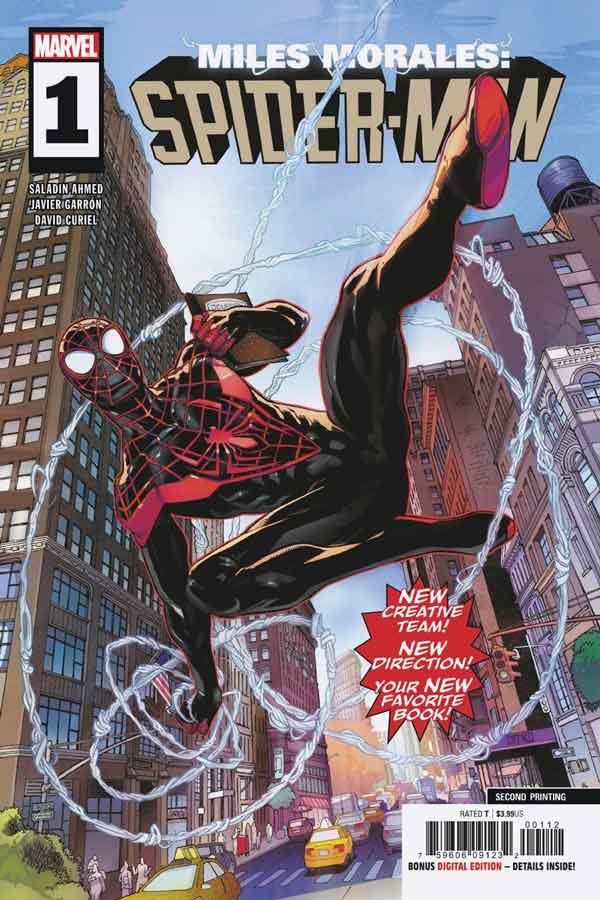 Miles Morales: Spider-Man Vol 1 #1 Майлз Моралес: Человек-Паук Том 1 #1 читать скачать комиксы онлайн