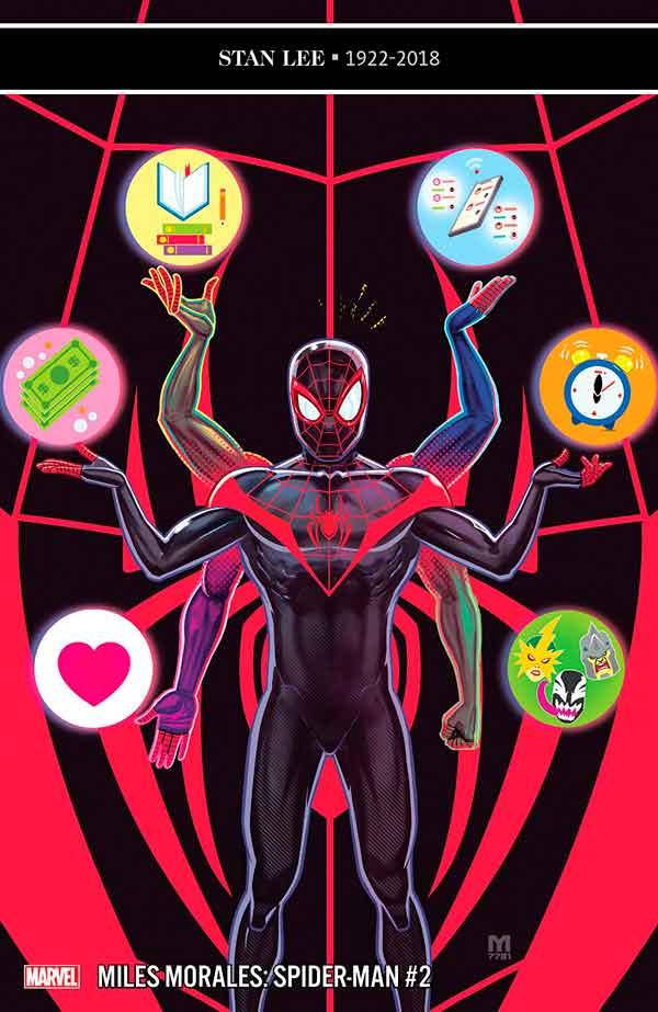 Miles Morales: Spider-Man Vol 1 #2 Майлз Моралес: Человек-Паук Том 1 #2 читать скачать комиксы онлайн