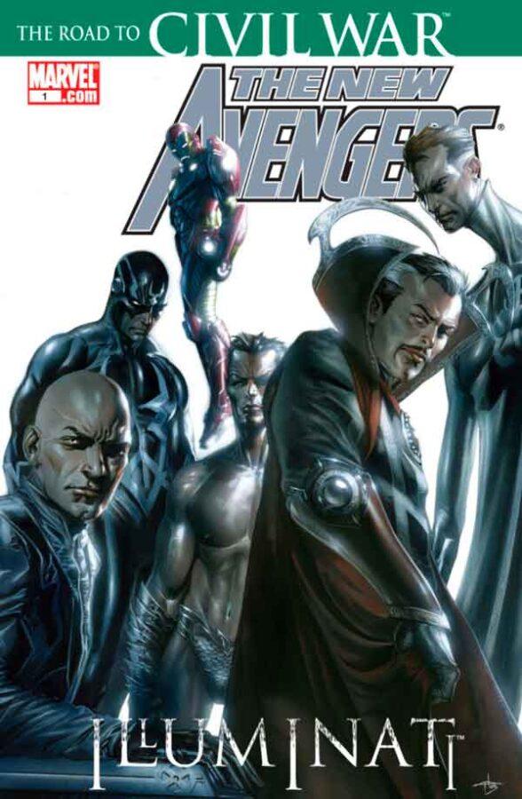 New Avengers: Illuminati #1 Новые Мстители: Иллюминаты Том 1 #1 читать скачать комиксы онлайн
