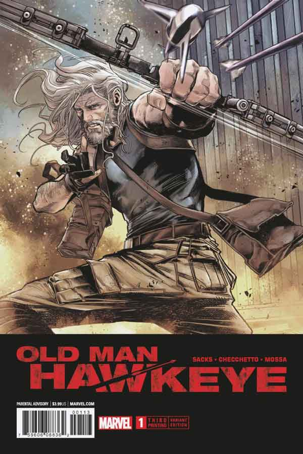 Old Man Hawkeye Vol 1 #1 Старик Хоукай Том 1 #1 скачать читать онлайн
