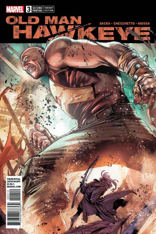 Old Man Hawkeye Vol 1 #3 Старик Хоукай Том 1 #3 скачать читать онлайн