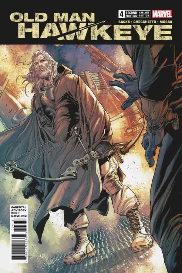 Old Man Hawkeye Vol 1 #4 Старик Хоукай Том 1 #4 скачать читать онлайн