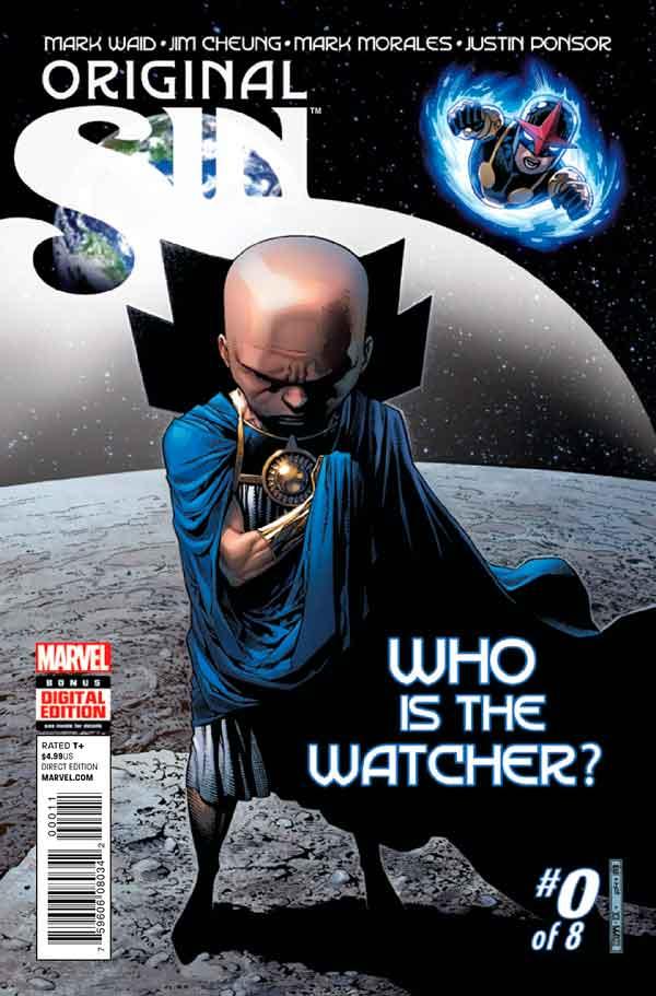 Original Sin #0 Первородный #0 Грех Marvel читать скачать комиксы онлайн