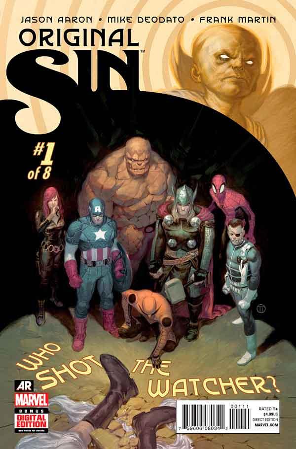 Original Sin #1 Первородный #1 Грех Marvel читать скачать комиксы онлайн