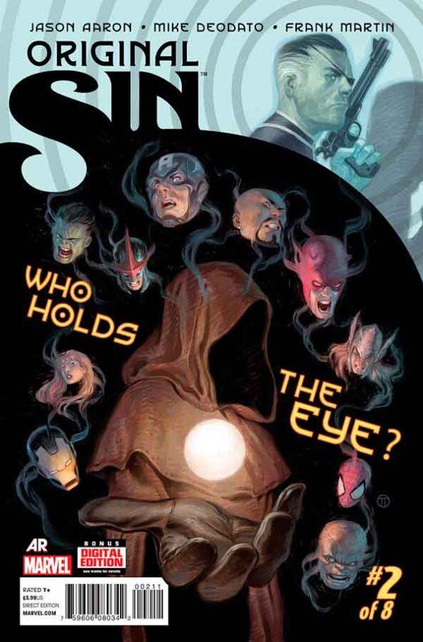 Original Sin #2 Первородный #2 Грех Marvel читать скачать комиксы онлайн