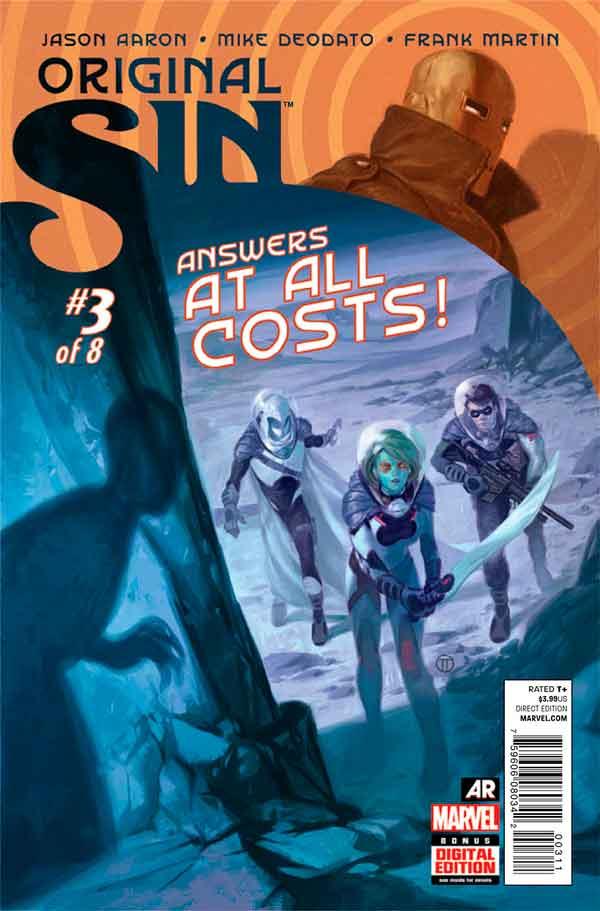 Original Sin #3 Первородный #3 Грех Marvel читать скачать комиксы онлайн