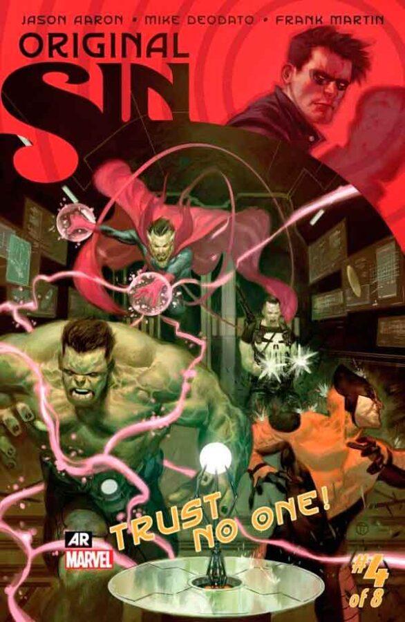 Original Sin #4 Первородный #4 Грех Marvel читать скачать комиксы онлайн