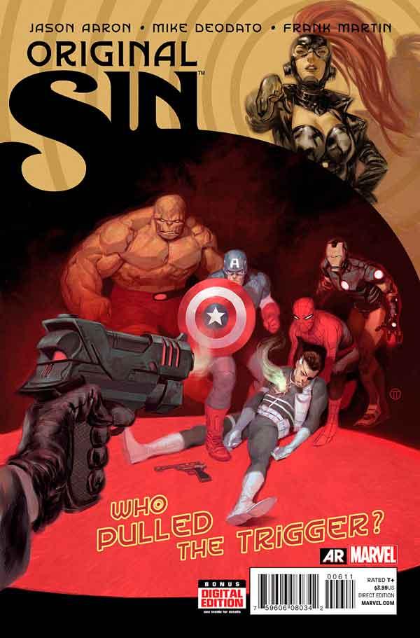 Original Sin #6 Первородный #6 Грех Marvel читать скачать комиксы онлайн