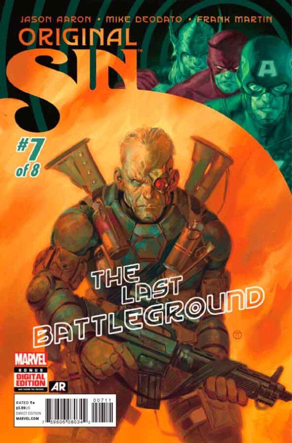 Original Sin #7 Первородный #7 Грех Marvel читать скачать комиксы онлайн