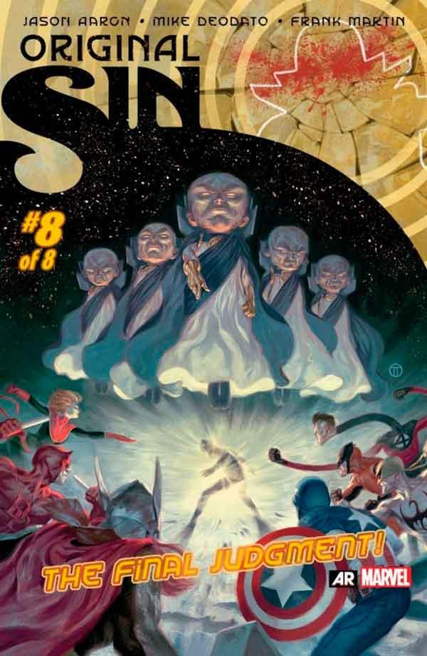 Original Sin #8 Первородный #8 Грех Marvel читать скачать комиксы онлайн