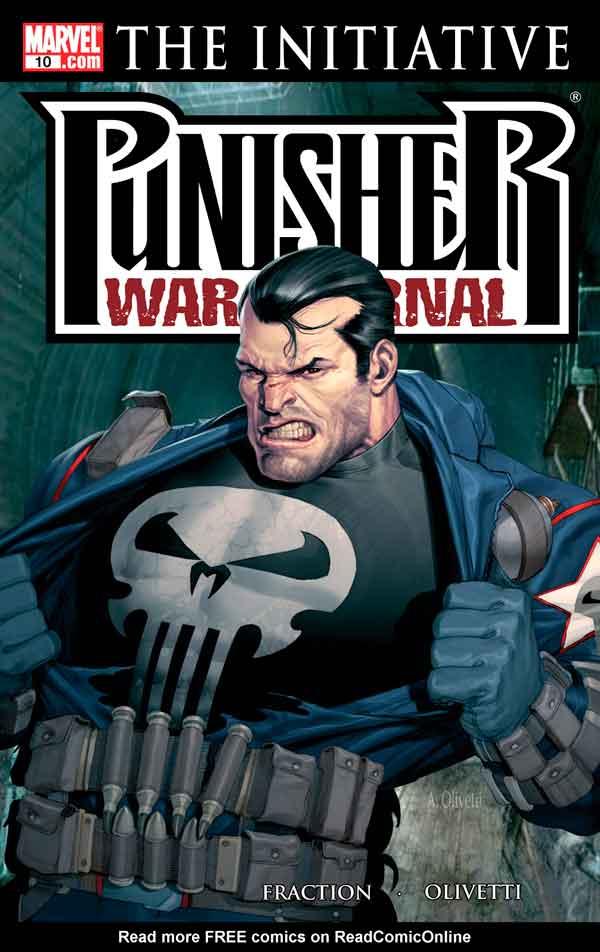 Punisher War Journal #10 (2006) Каратель Боевой Дневник #10 скачать/читать онлайн