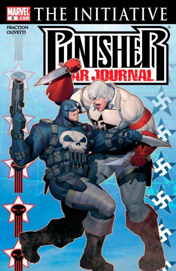 Punisher War Journal #8 (2006) Каратель Боевой Дневник #8 скачать/читать онлайн