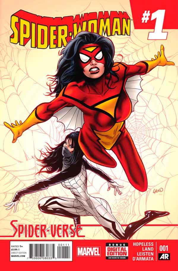 Spider-Woman Vol 5 #1, Женщина-Паук Том 5 #1 читать скачать комиксы онлайн