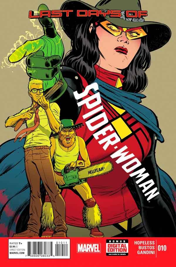 Spider-Woman Vol 5 #10, Женщина-Паук Том 5 #10 читать скачать комиксы онлайн
