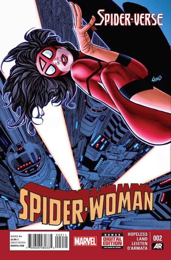 Spider-Woman Vol 5 #2, Женщина-Паук Том 5 #2 читать скачать комиксы онлайн