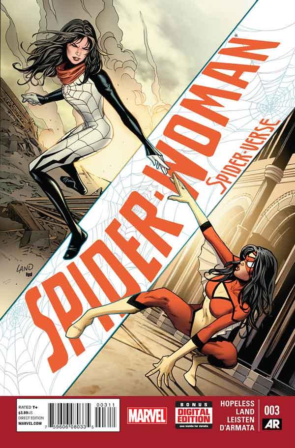 Spider-Woman Vol 5 #3, Женщина-Паук Том 5 #3 читать скачать комиксы онлайн