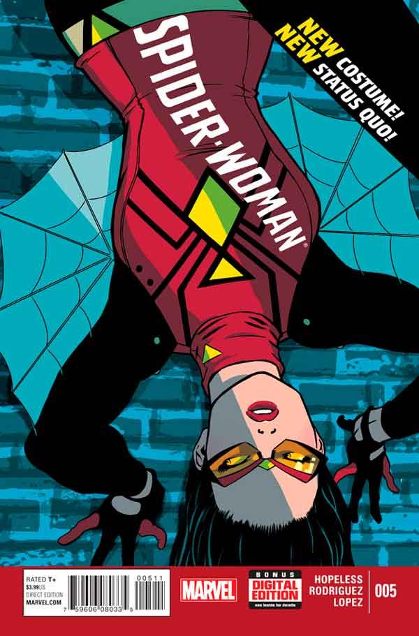 Spider-Woman Vol 5 #5, Женщина-Паук Том 5 #5 читать скачать комиксы онлайн