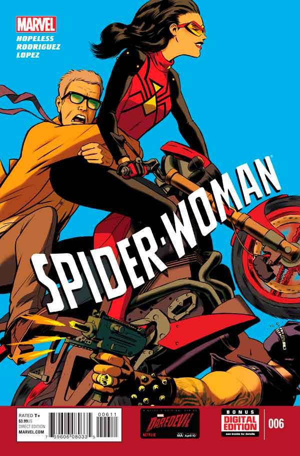 Spider-Woman Vol 5 #6, Женщина-Паук Том 5 #6 читать скачать комиксы онлайн