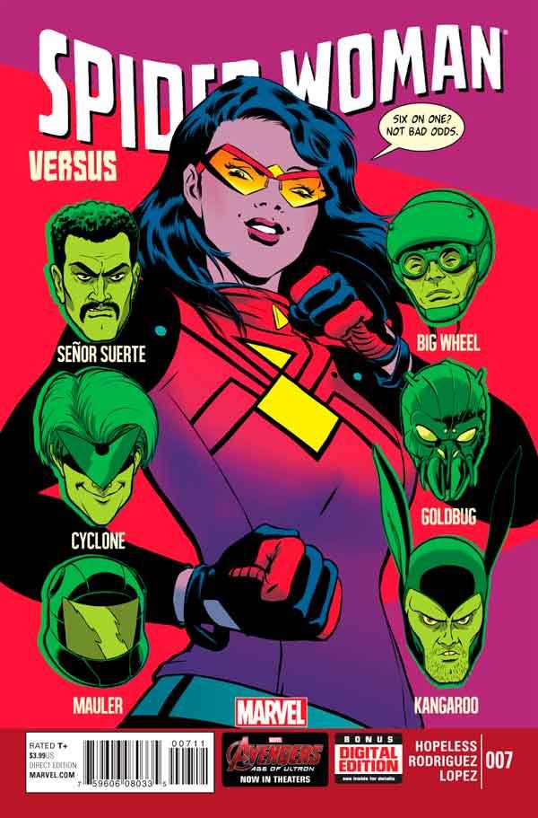 Spider-Woman Vol 5 #7, Женщина-Паук Том 5 #7 читать скачать комиксы онлайн