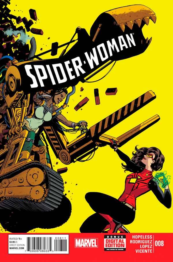 Spider-Woman Vol 5 #8, Женщина-Паук Том 5 #8 читать скачать комиксы онлайн