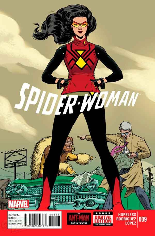 Spider-Woman Vol 5 #9, Женщина-Паук Том 5 #9 читать скачать комиксы онлайн