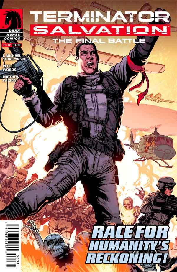 Terminator Salvation The Final Battle #3 Терминатор Спасение. Финальная битва #3 читать скачать комиксы онлайн